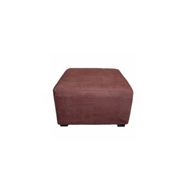 Suede Ottoman