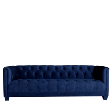 Luxe 3 Seater Navy