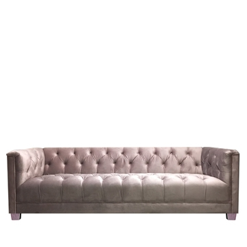Luxe 3 Seater Pink