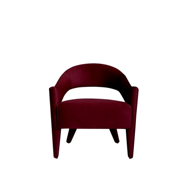 Lola Chair Maroon