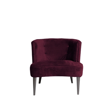 Sixties Chair Maroon