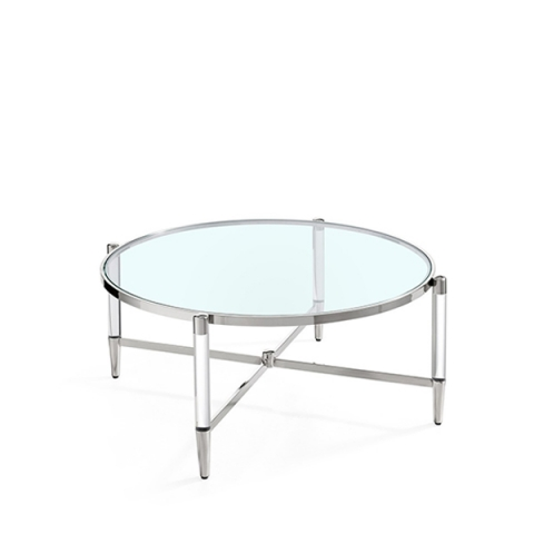 Luxe Coffee Table Chrome